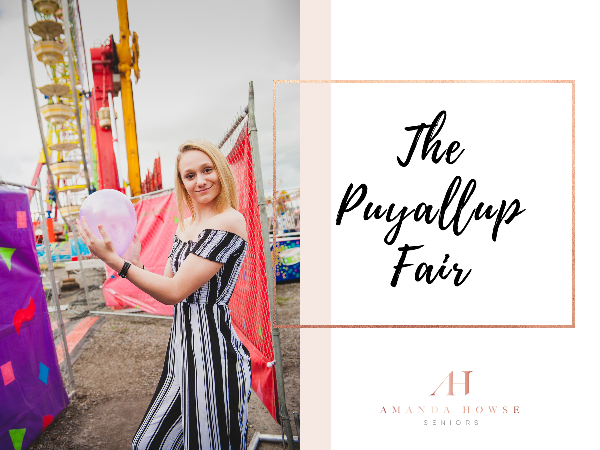Senior Portraits at the Puyallup Fair | AHP Model Team Shoot with Amanda Howse